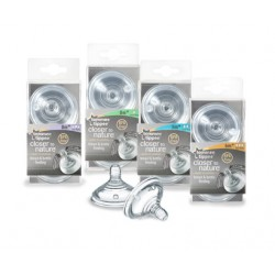 Tommee Tippee smoczki do butelek EASY VENT  (0m+)