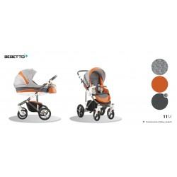 Wózek 2w1 Bebetto Murano szary