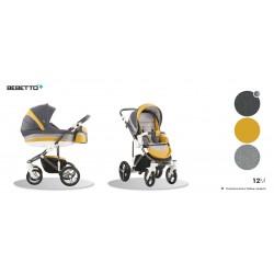 Wózek 3w1 Bebetto Murano 12M
