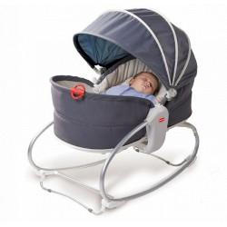 Tiny Love wielofunkcyjny leżaczek-bujaczek-łóżeczko 3w1, szary