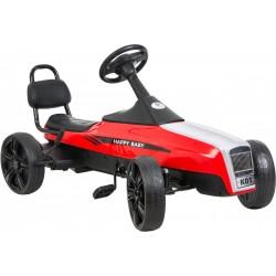 Gokart na pedały RETRO jeździk dla dzieci 5-12 lat