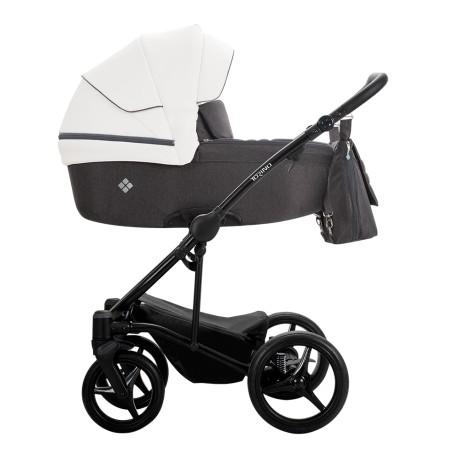 Wózek Bebetto Torino 2w1 czarny stelaż Kolor 01
