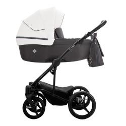 Wózek Bebetto Torino 3w1 czarny stelaż Kolor 01