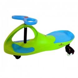 Pojazd Dziecięcy Crazycar Led green/blue
