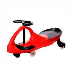 Pojazd Dziecięcy Crazycar koła Led czerwony