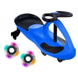Pojazd Dziecięcy Crazycar koła LED blue