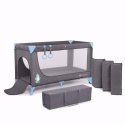 Kinderkraft łóżeczko turystyczne JOY blue