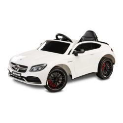 Toyz Pojazd na aku. Mercedes AMG C63 S white
