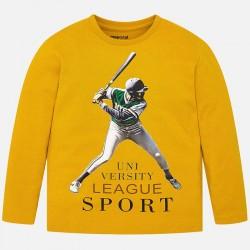 4025 Koszulka z długim rękawem sport dla chłopca mayoral jesień/zima