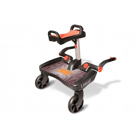 BuggyBoard Maxi+ dostawka do wózka Black/Red