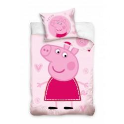 Pościel Carbotex Peppa Pig 100x135cm