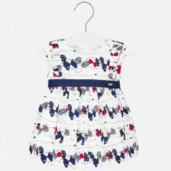1911 Sukienka marino dla dziewczynki Baby mayoral wiosna