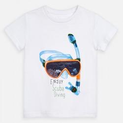 3070 Koszulka dla chłopca mayoral wiosna