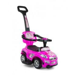 Jeździk - Milly Mally Happy pink-black