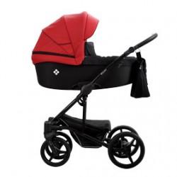 Wózek Bebetto Torino 3w1 czarny stelaż Kolor 07