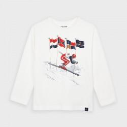 4037 Koszulka dla chłopca mayoral jesień