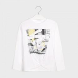 7078 Koszulka dla dziewczynki mayoral jesień