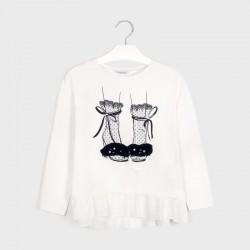 7074 Koszulka dla dziewczynki mayoral jesień