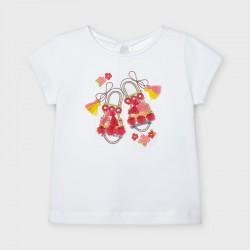 3014 koszulka dla dziewczynki mayoral