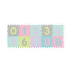Baby Ono puzzle piankowe 10szt cyfry pastelowe