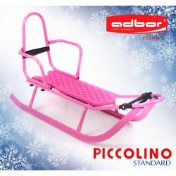 Sanki Piccolino Standard różowe