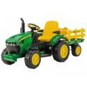 Peg Perego John Deere ground force traktor z przyczepą