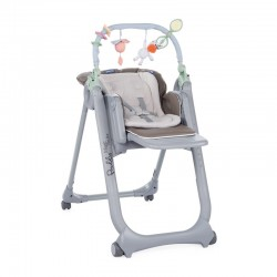 Chicco Krzesełko Polly Magic Relax Dove Grey 4 kółka