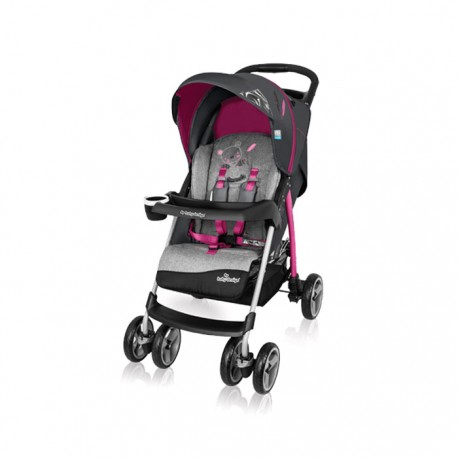 Wózek spacerowy Baby Design Walker Lite 08 pink