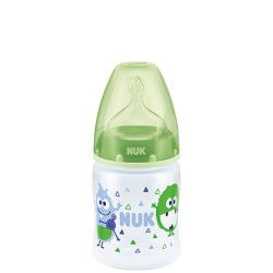 NUK butelka first choice 120ml zielona
