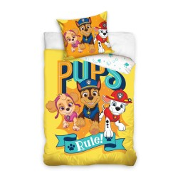 Pościel Carbotex Paw Patrol 100x135cm Pups Rule