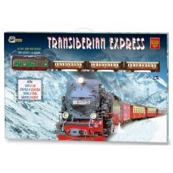 Kolejka elektryczna Transiberian train
