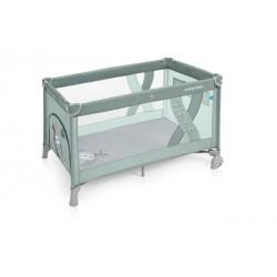 Łóżeczko turystyczne Baby Design Simple green