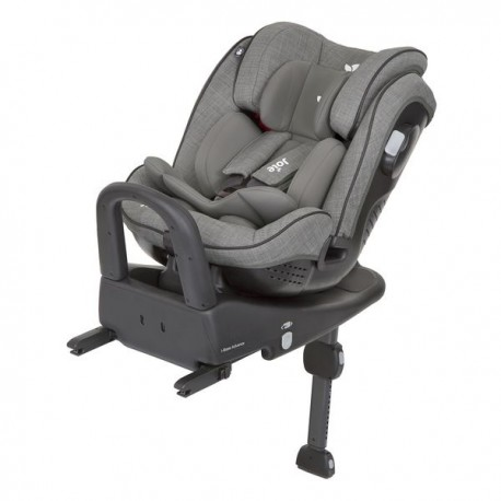 Fotelik JOIE STAGES ISOFIX 0-25 kg foggy grey