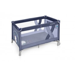 Łóżeczko turystyczne Baby Design Simple blue